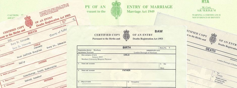 Replacement birth certificate order today - General register office birth certificate ...
