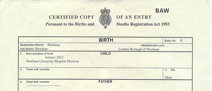 Using a UK Birth Certificate Overseas - Get an Apostille